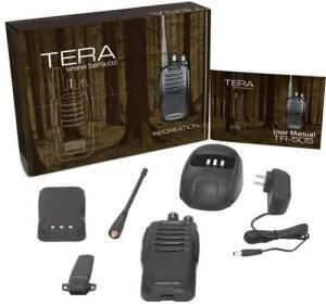 TERA TR-505 Dual-Band 16 Channel MURS NOAA GMRS Handheld Emergency Two-Way Radio